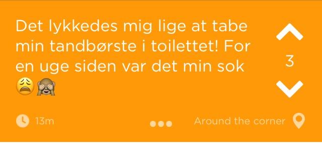 Hvordan taber man sin sok i toilettet? - Jodelgrin.dk