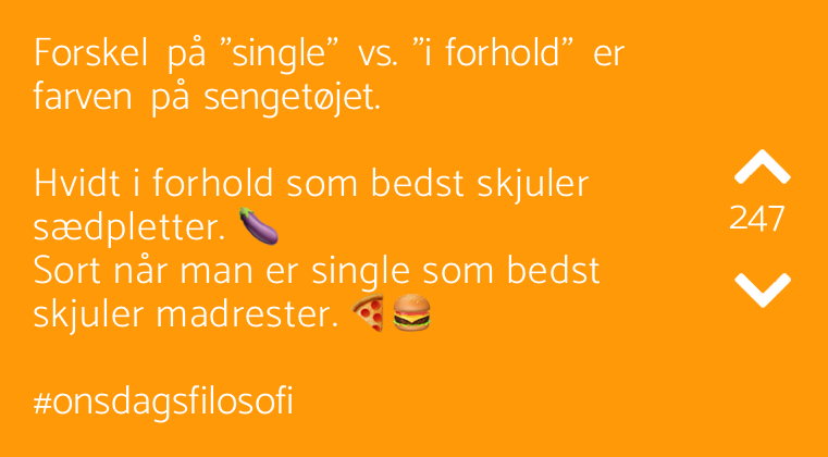 Dating vs et forhold jobb
