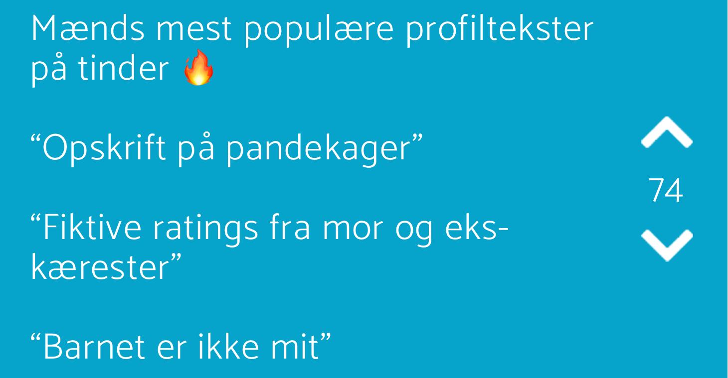 Mænds mest populære profiltekster på - Jodelgrin.dk